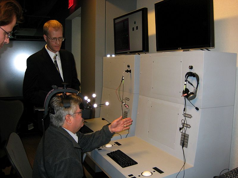 File:UCSD Calit2 GRAVITY AR Training console 1.jpg